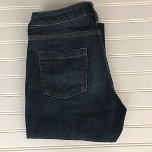 New York & Co Low Rise BootCut Curvy Jeans SZ 6P